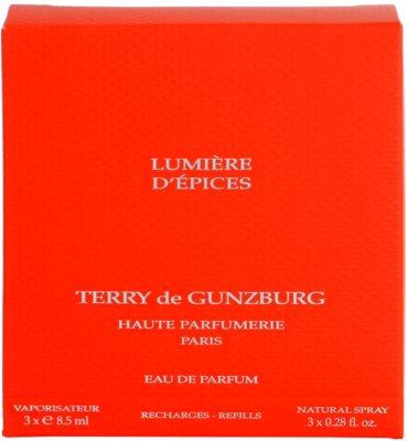 Terry de Gunzburg Lumiere d'Epices parfémovaná voda pro ženy  (3x náplň s rozprašovačem) 4