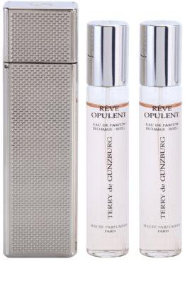 Terry de Gunzburg Reve Opulent Eau De Parfum pentru femei  (2x spray reincarcabil) + cutie metalica 1