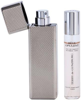 Terry de Gunzburg Reve Opulent Eau De Parfum pentru femei  (2x spray reincarcabil) + cutie metalica 2