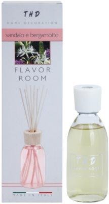 THD Diffusore THD Sandalo e Bergamotto aroma diffúzor töltelékkel