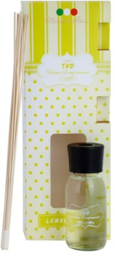 THD Home Fragrances Lemongrass aróma difuzér s náplňou