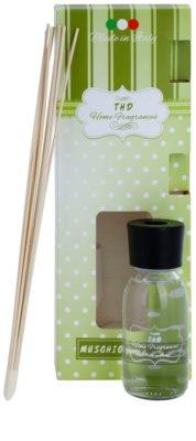 THD Home Fragrances Muschio Bianco difusor de aromas con el relleno