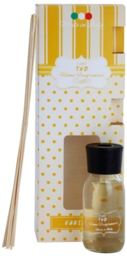 THD Home Fragrances Vanilla Aroma Diffuser mit Nachfüllung