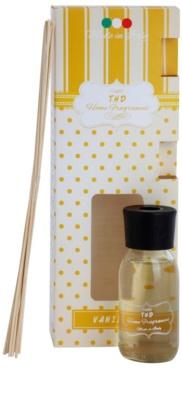 THD Home Fragrances Vanilla aroma diffúzor töltelékkel