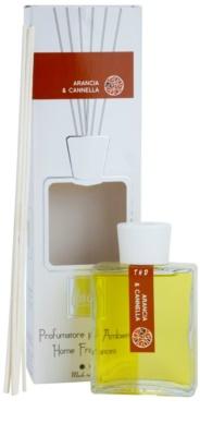 THD Platinum Collection Arancia & Cannella aroma difusor com recarga
