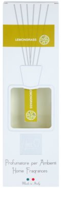 THD Platinum Collection Lemongrass aроматизиращ дифузер с пълнител 2