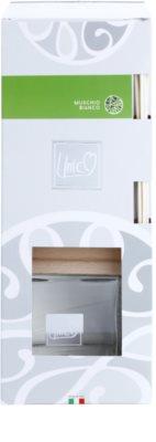 THD Unico Prestige Muschio Bianco aroma diffúzor töltelékkel 2