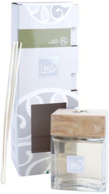 THD Unico Prestige White Bamboo Aroma Diffuser mit Nachfüllung