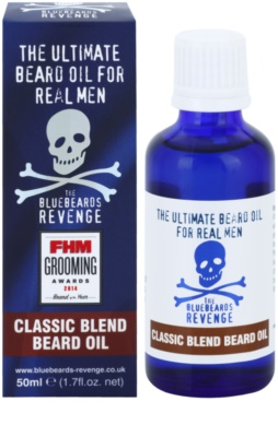 The Bluebeards Revenge Classic Blend olje za brado 1