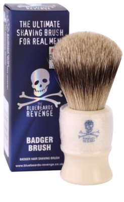 The Bluebeards Revenge Corsair Super Badger Shaving Brush pincel de barbear com pelos de texugo 1