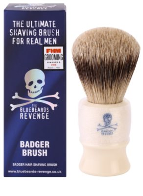 The Bluebeards Revenge Corsair Super Badger Shaving Brush pincel de barbear com pelos de texugo 2