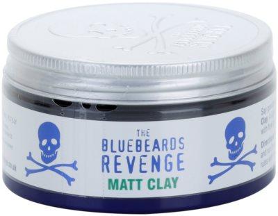 The Bluebeards Revenge Hair & Body matowa glinka modelująca do włosów
