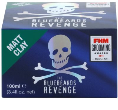 The Bluebeards Revenge Hair & Body Argila para dar textura mate ao cabelo 2
