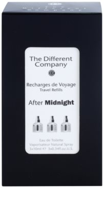 The Different Company After Midnight eau de toilette unisex  (3x utántöltő szórófejjel) 3