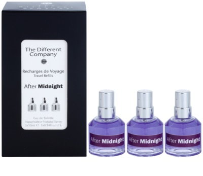 The Different Company After Midnight тоалетна вода унисекс  (3 бр.пълнители с пулверизатор)