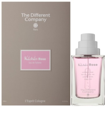 The Different Company L'Esprit Cologne Kâshân Rose eau de toilette para mujer  recargable