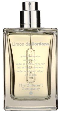 The Different Company Limon De Cordoza eau de toilette teszter unisex  utántölthető 1