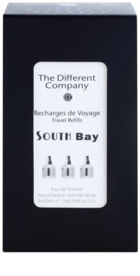 The Different Company South Bay Eau de Toilette unisex  Dreifach-Nachfüllpackung mit Zerstäuber 3