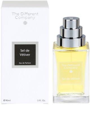 The Different Company Sel de Vetiver Eau de Parfum unissexo