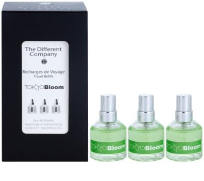 The Different Company Tokyo Bloom woda toaletowa unisex  (3x uzupełnienie z atomizerem)