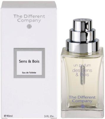 The Different Company Sens & Bois eau de toilette nőknek  utántölthető