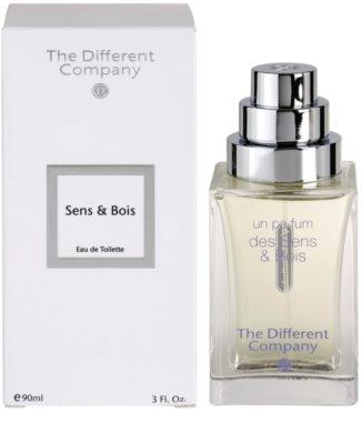 The Different Company Sens & Bois toaletní voda pro ženy  plnitelná