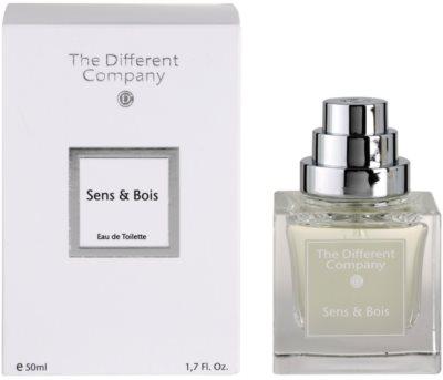 The Different Company Sens & Bois Eau de Toilette pentru femei