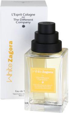 The Different Company White Zagora Eau de Toilette para mulheres  recarregável 1