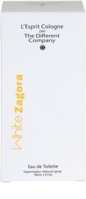 The Different Company White Zagora Eau de Toilette para mulheres  recarregável 4