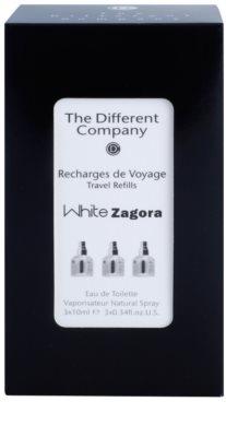 The Different Company White Zagora Eau de Toilette für Damen  Dreifach-Nachfüllpackung mit Zerstäuber 3
