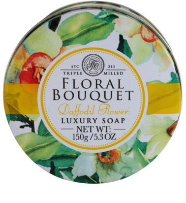 The Somerset Toiletry Co. Floral Bouquet Daffodil Flower săpun de lux 3