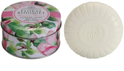 The Somerset Toiletry Co. Floral Bouquet Magnolia Blossom високоякісне тверде мило