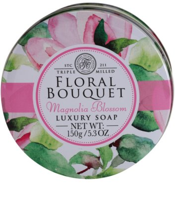 The Somerset Toiletry Co. Floral Bouquet Magnolia Blossom luxus bar szappan 3