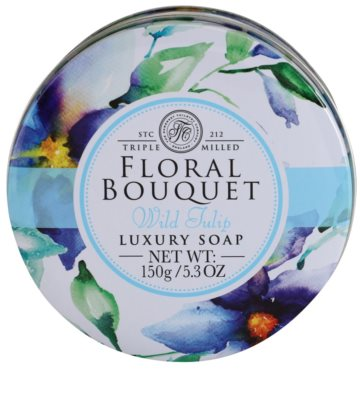 The Somerset Toiletry Co. Floral Bouquet Wild Tulip високоякісне тверде мило 3