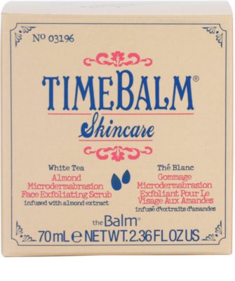 theBalm TimeBalm Skincare Almond Microdermabrasion Face Exfoliating Scrub Gesichtspeeling 4