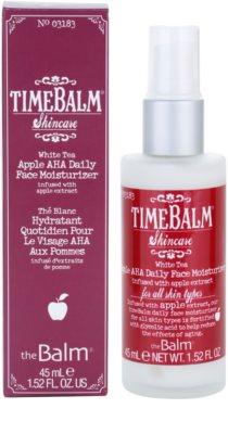 theBalm TimeBalm Skincare Apple AHA Daily Face Moisturizer hydratační emulze
