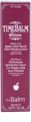 theBalm TimeBalm Skincare Apple AHA Daily Face Moisturizer hydratační emulze 4