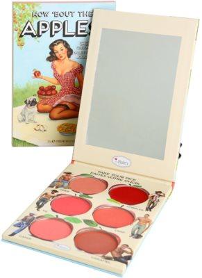 theBalm How 'Bout Them Apples? Palette mit Cremerouge und Lippenstift