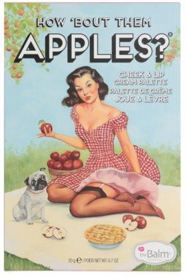 theBalm How 'Bout Them Apples? Palette mit Cremerouge und Lippenstift 4