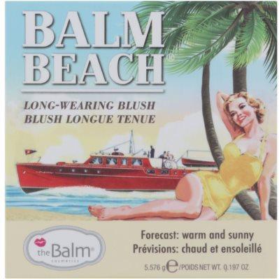 theBalm Balm Beach Blush rezistent 2