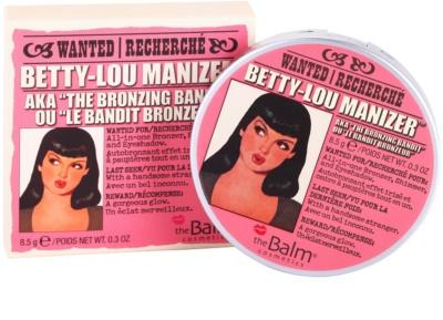 theBalm Betty - Lou Manizer bronzeador e sombra em um