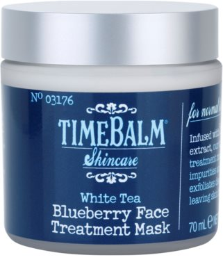 theBalm TimeBalm Skincare Blueberry Face Treatment Mask masca intensiva 1