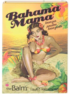 theBalm Bahama Mama бронзатор, тіні для повік та контурна пудра в одному 3