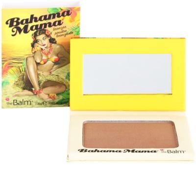 theBalm Bahama Mama bronzer, senčilo za oči in puder za konture v enem