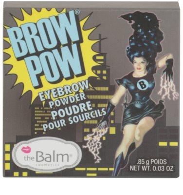 theBalm Brow Pow pudra  pentru sprancene 4