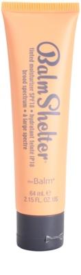 theBalm BalmShelter creme hidratante com cor  SPF 18