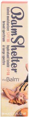 theBalm BalmShelter crema hidratante con color SPF 18 3