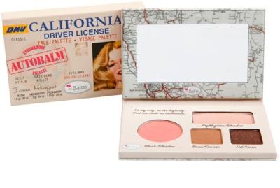 theBalm Autobalm California paleta pentru fata multifunctionala