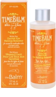 theBalm TimeBalm Skincare Carrot Eye Makeup Remover odstranjevalec ličil za oči za normalno do mešano kožo