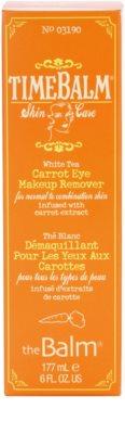 theBalm TimeBalm Skincare Carrot Eye Makeup Remover засіб для зняття макіяжу з очей для нормальної та змішаної шкіри 3